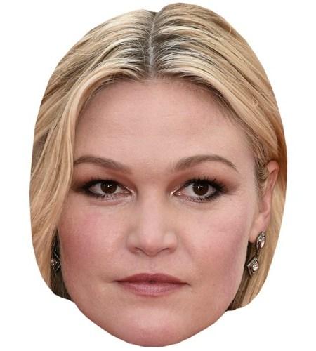 A Cardboard Celebrity Mask of Julia Stiles
