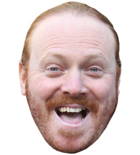 A Cardboard Celebrity Mask of Keith Lemon (2016)