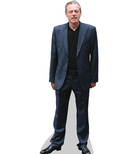 A Lifesize Cardboard Cutout of Leslie Grantham