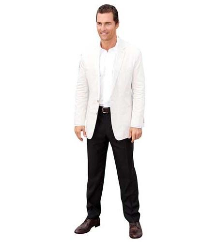 Matthew McConaughey Life Size Cutout