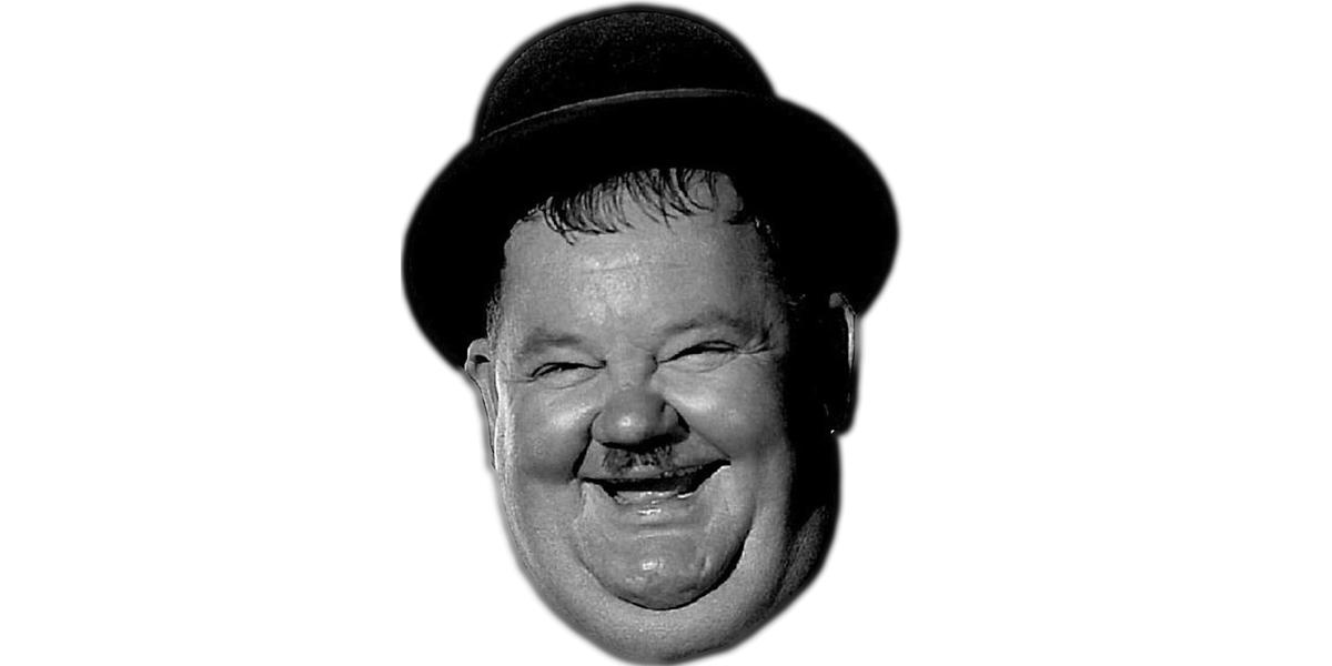 Oliver Hardy Masques de célébrités