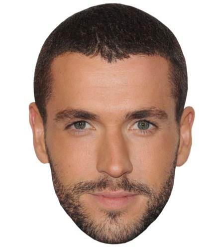 A Cardboard Celebrity Mask of Shayne Ward
