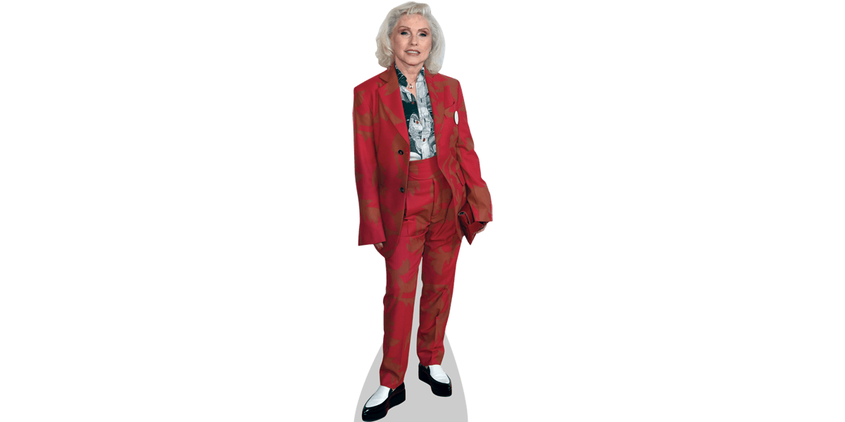 Life Size Cutout Debbie Harry Red
