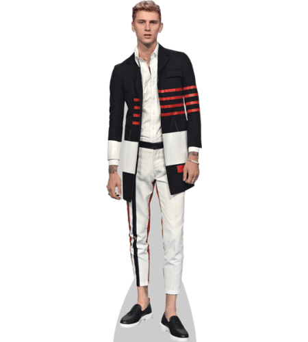 Machine Gun Kelly White Trousers Cardboard Cutout