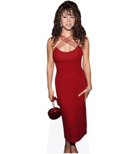 mini size Standee. Mariah Carey Cardboard Cutout