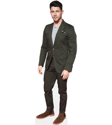 Nick Jonas (Green Suit)