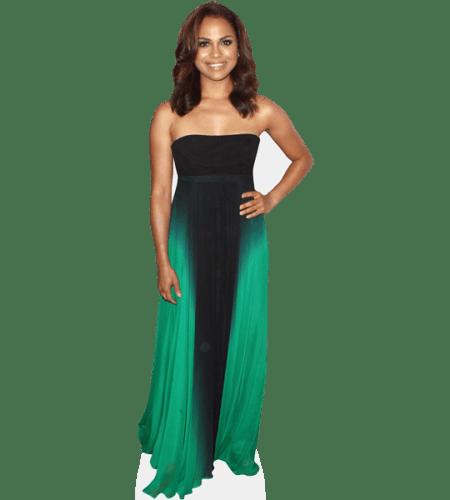 Monica Raymund (Green Dress)