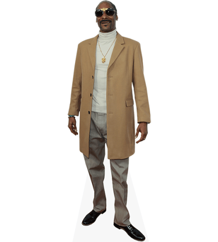 Snoop Dogg (Long Coat) Cardboard Cutout