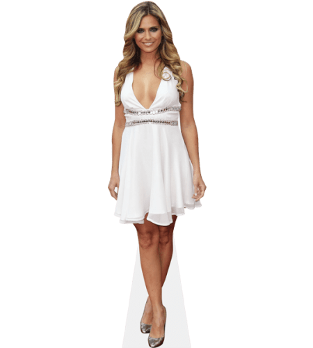 Clara Morgane (White Dress)