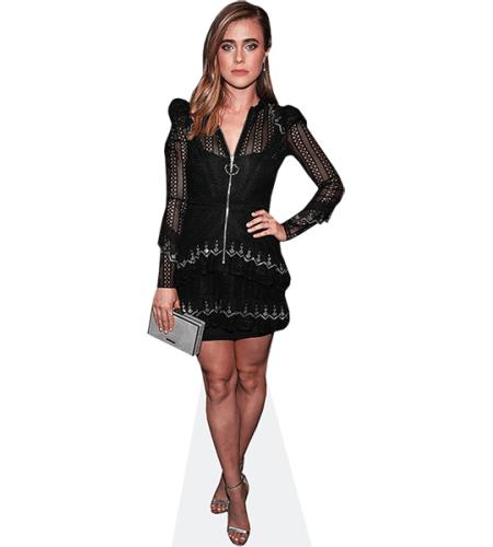 Melissa Roxburgh (Black Dress)