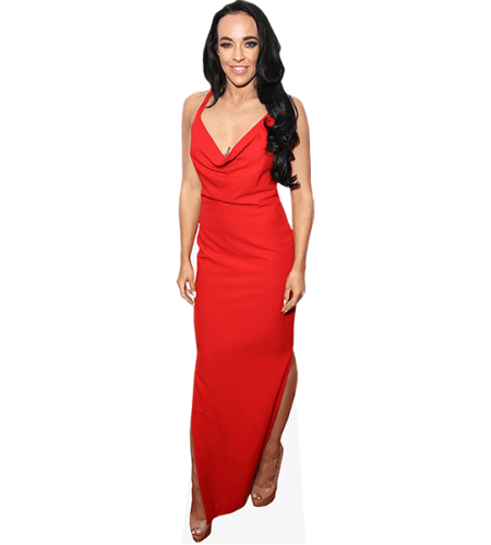Stephanie Davis (Red Dress)