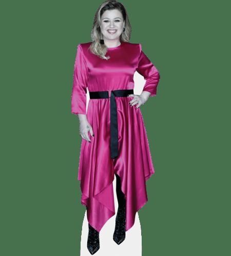 Kelly Clarkson (Pink Dress)