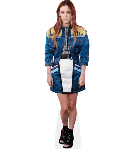 Riley Keough (Blue Outfit)