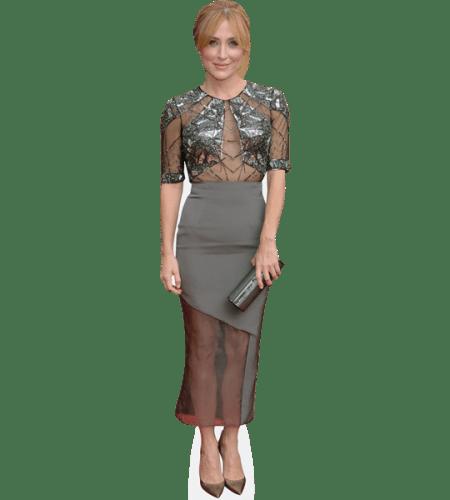 Sasha Alexander (Grey Dress)