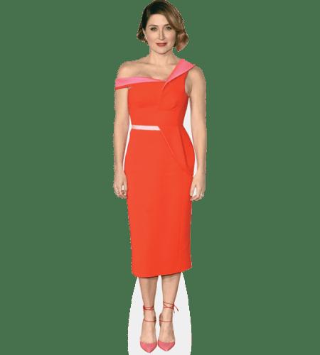 Sasha Alexander (Orange Dress)