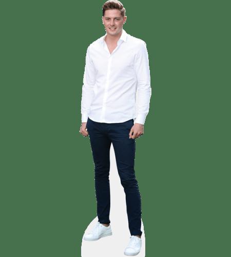 Dr Alex George (White shirt)