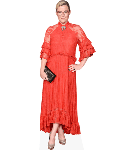 Kathleen Robertson (Red Dress)