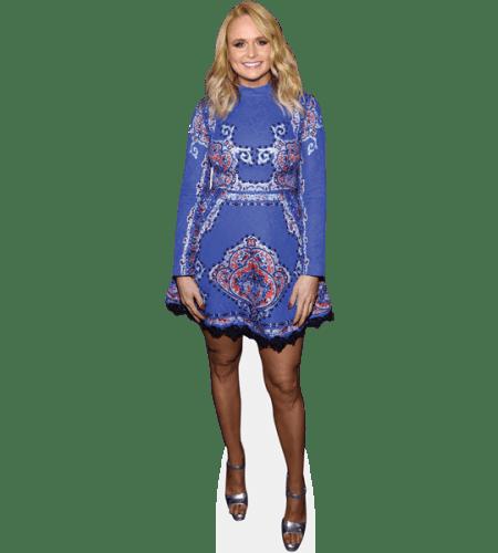 Miranda Lambert (Blue Dress)