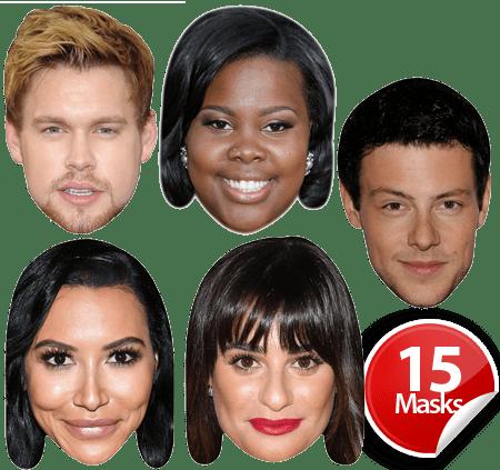 Glee Cast Mask Pack