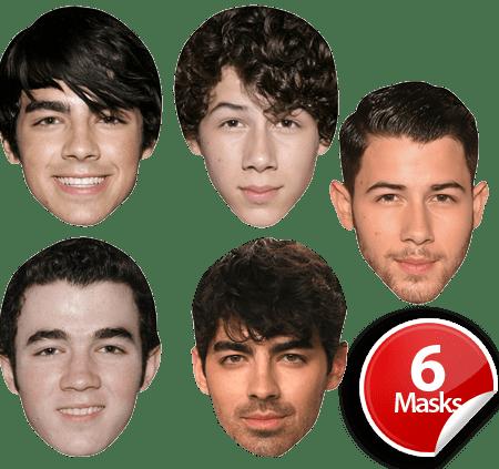 Jonas Brothers Mask Pack