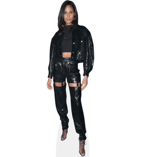 Cindy Bruna (Black Outfit)
