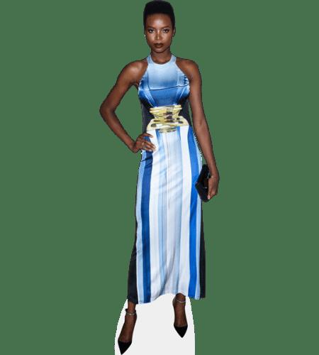 Maria Borges (Blue Dress)