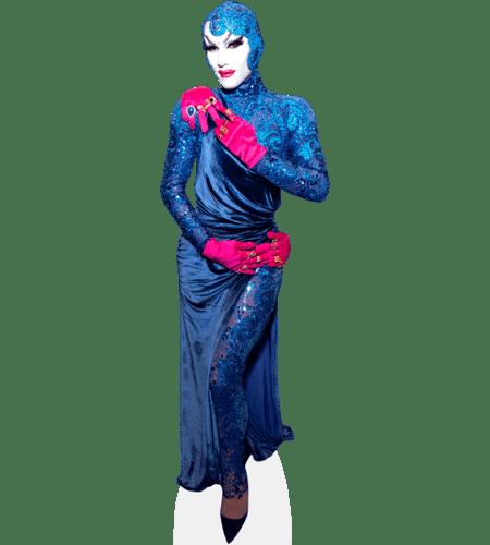 Sasha Velour (Blue Outfit)