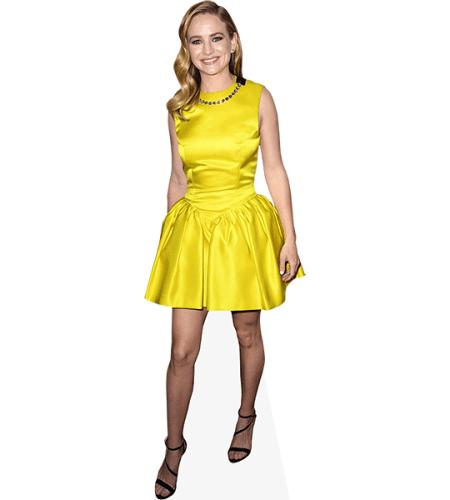 Britt Robertson (Yellow Dress)