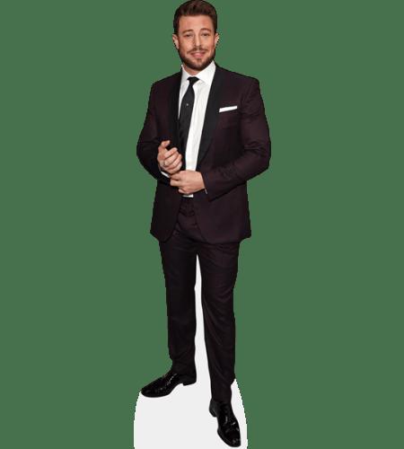 Duncan James (Burgundy Suit)