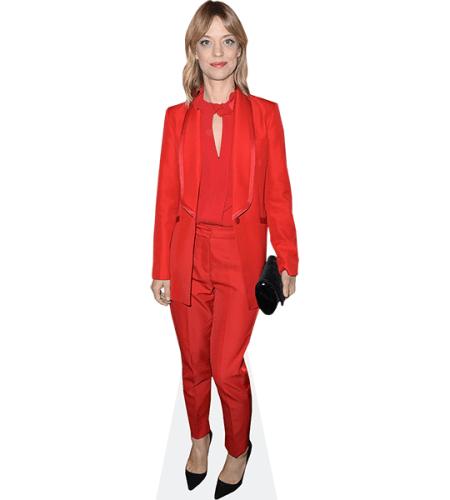 Heike Makatsch (Red Suit)