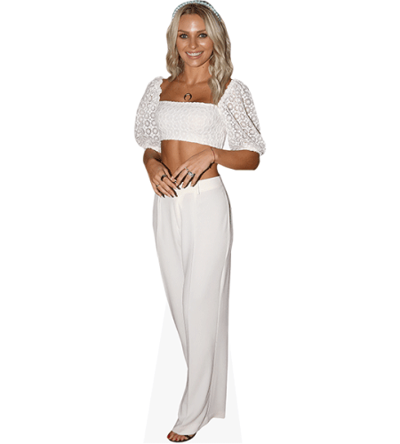 Irina Baeva (White Outfit)