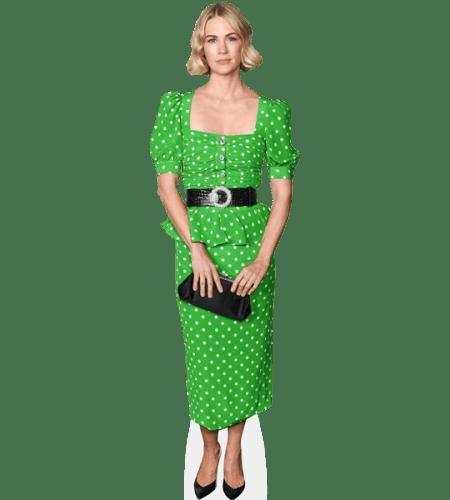 January Jones (Green Dress)