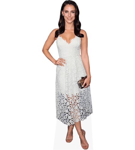 Jessica Lowndes (White Dress)