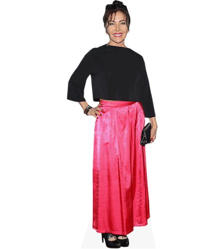Mara Escalante (Pink Dress)