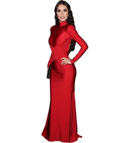 Marlene Favela (Red Dress)