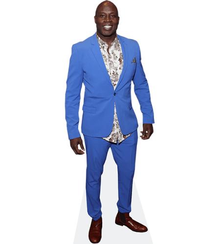 Martin Offiah (Blue Suit)