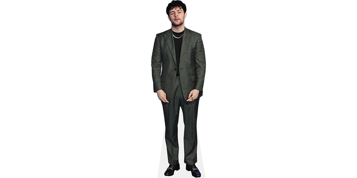 Tom Grennan Green Suit Mini Cutout