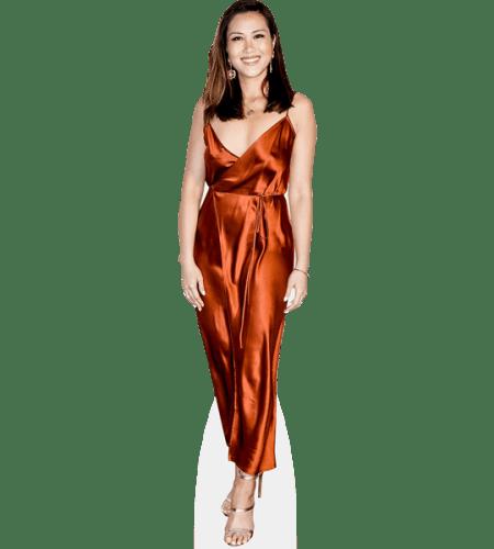 Diana Chan (Copper Dress)