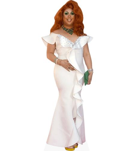 Sum Ting Wong (White Dress)