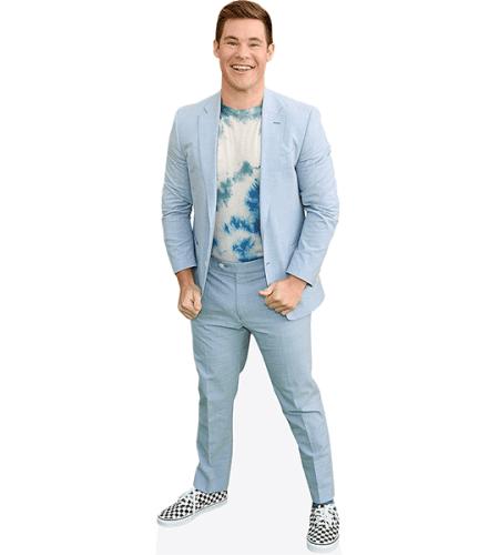 Adam Devine (Blue Jacket)
