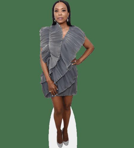 Aisha Tyler (Silver Dress)