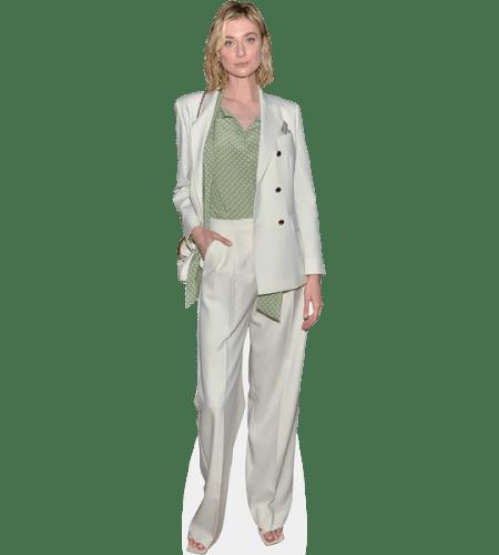Elizabeth Debicki (White Outfit)