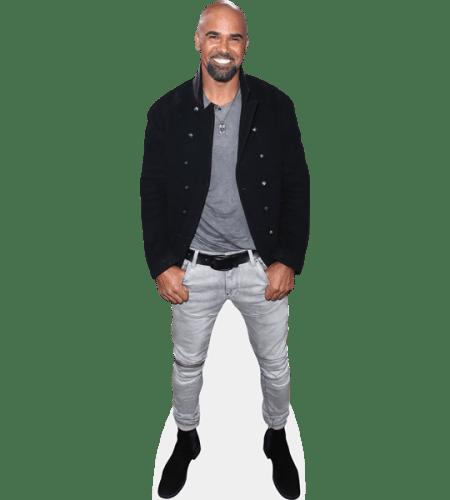 Shemar Moore (Black Jacket)
