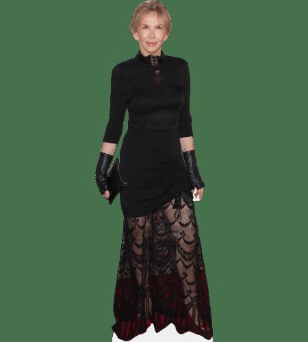Trudie Styler (Black Dress)