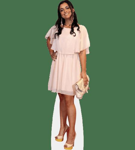 Shona McGarty (White Dress)