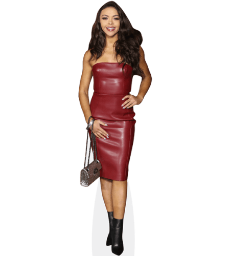 Vanessa Bauer (Leather Dress)
