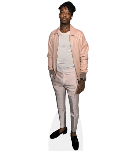 21 Savage (Pink Jacket)