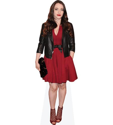 Kat Dennings (Red Dress)