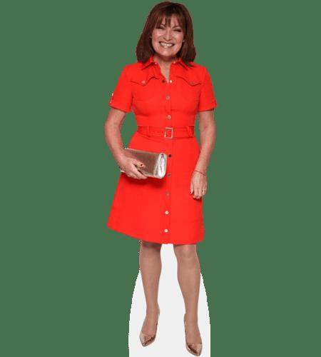 Lorraine Kelly (Red Dress)