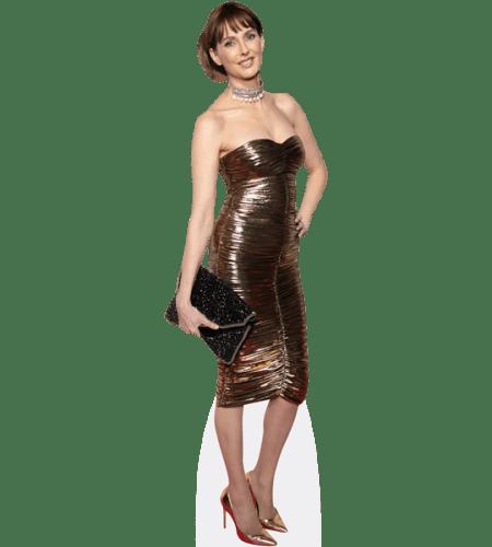 Frederique Bel (Gold Dress)